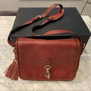 Gucci Red Leather Handbag Pursd